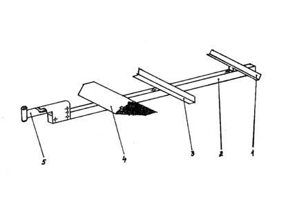 Схема прицепного устройства